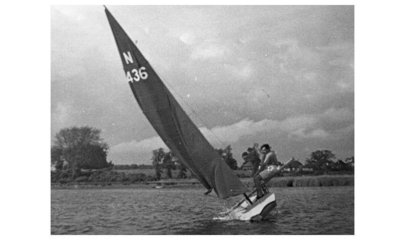 John Westell's design for the Dingbat pre-dated the Fireball by 15 years, but gave us many signposts to what a performance skiff would be like in the future photo copyright G. Westell taken at  and featuring the Classic & Vintage Dinghy class