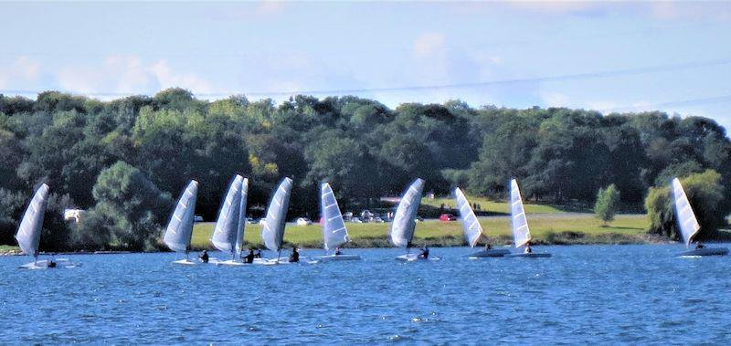 D-Zero Inland Championships 2020 at Grafham - photo © Nigel Denchfield