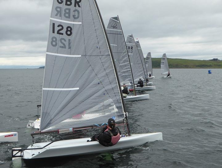 D-Zero Scottish Championships 2019 photo copyright Gordon Cochrane taken at Largs Sailing Club and featuring the D-Zero class