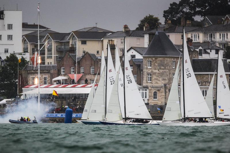 Daring start on day 5 at Lendy Cowes Week 2017 - photo © Paul Wyeth / CWL