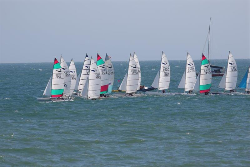 Race 2 of the Sprint 15 Sport Nationals at Yaverland - photo © Alan and Mary Howie-Wood
