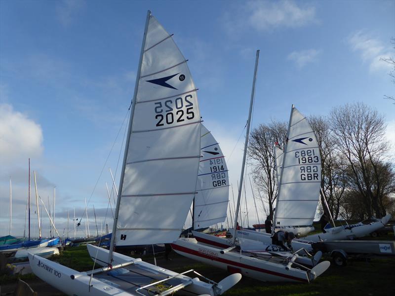 Sprint 15 Winter TT at Rutland Sailing Club