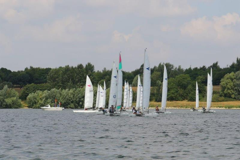 The Sprint 15 Summer Series visited Draycote photo copyright Alan Howie-Wood taken at Draycote Water Sailing Club and featuring the Sprint 15 class