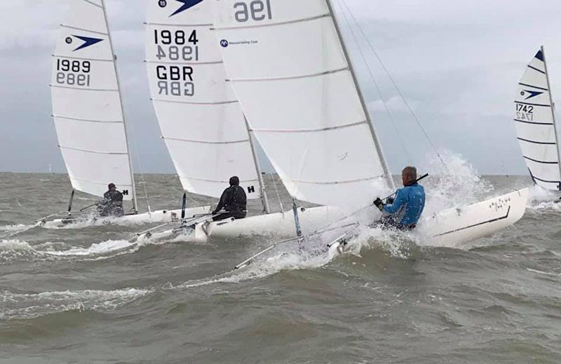 Kevin Kirby at the Sprint 15 National Championships at Harwich Town - photo © Duncan Wrigley