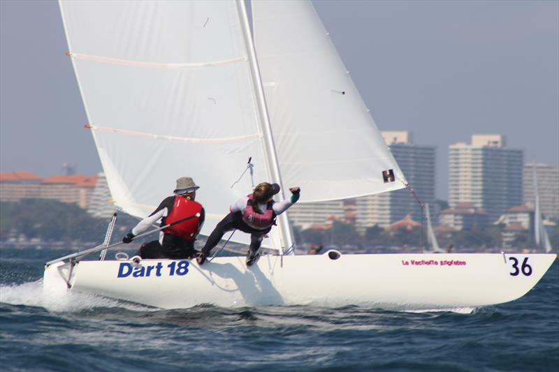 Dart 18 Worlds at Royal Varuna YC day 2 - photo © Sarka Ngassa