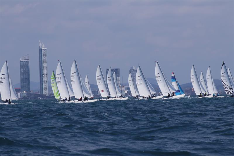 Dart 18 Worlds at Royal Varuna YC day 3 - photo © Sarka Ngassa