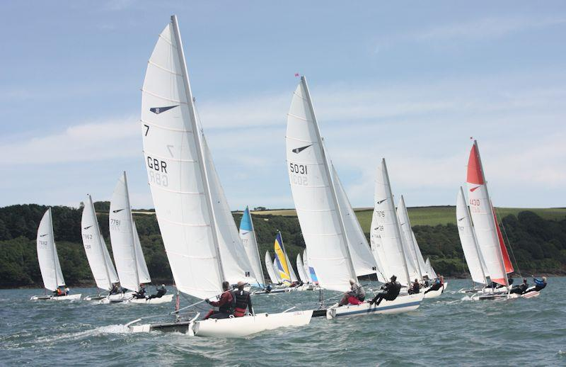 Dart 18 South West Championships at Restronguet - photo © Windsport International