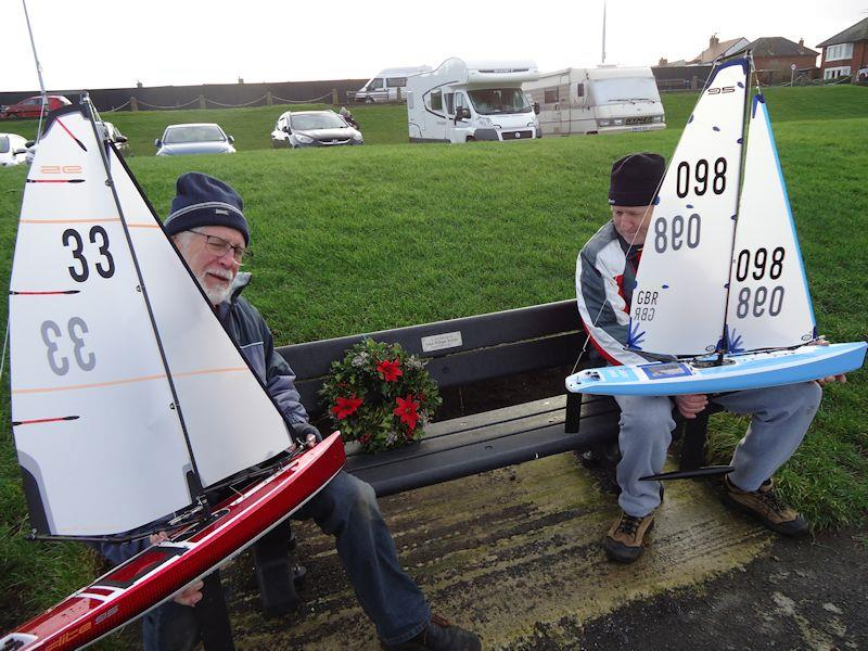 Twixmas Festive Event at Fleetwood photo copyright Peter Iles taken at Fleetwood Model Yacht Club and featuring the DF95 class