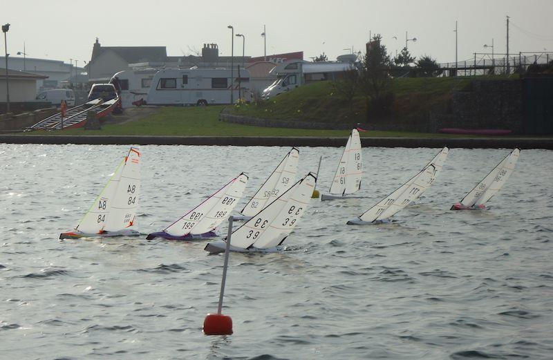 Rc Laser And Df95 Winter Series At West Lancashire Yacht Club