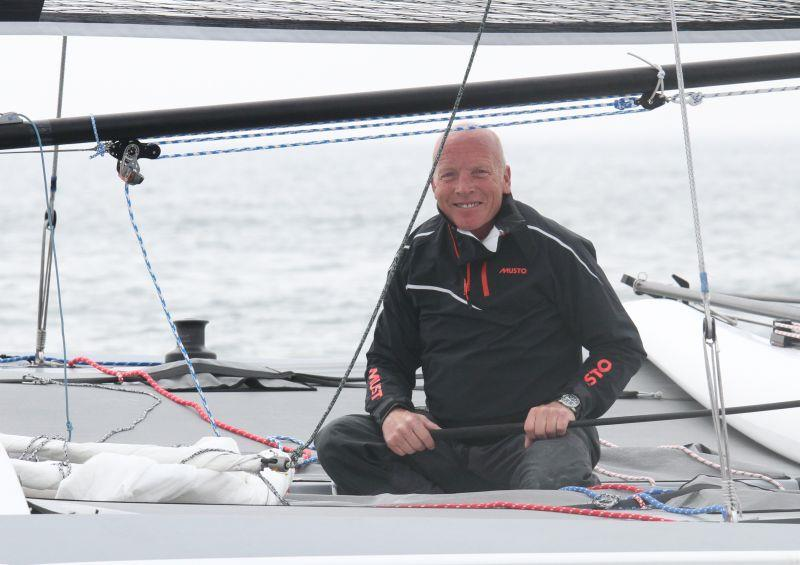 Mike Golding at the International Paint Poole Regatta - photo © Mark Jardine