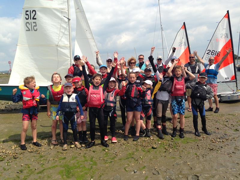 Local mum helps broaden appeal of youth sailing at Hayling