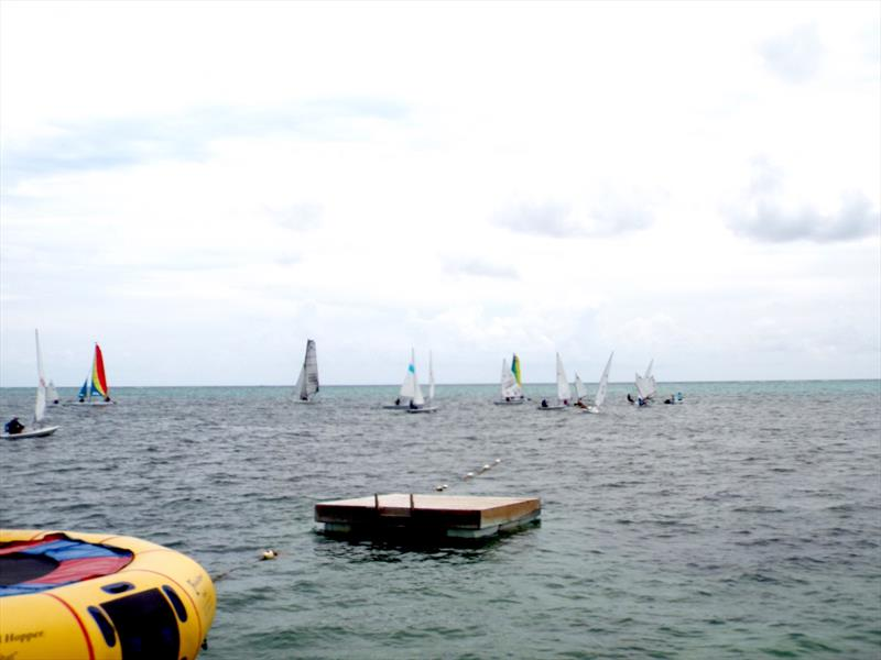Bart's Bash in Belize photo copyright Forrest Jones taken at Belize Sailing Association and featuring the Dinghy class