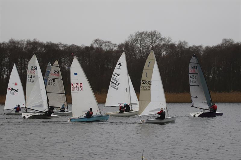 New Year's Day Open at Rollesby Broad Sailing Club photo copyright Kevin Davidson taken at Rollesby Broad Sailing Club and featuring the Dinghy class
