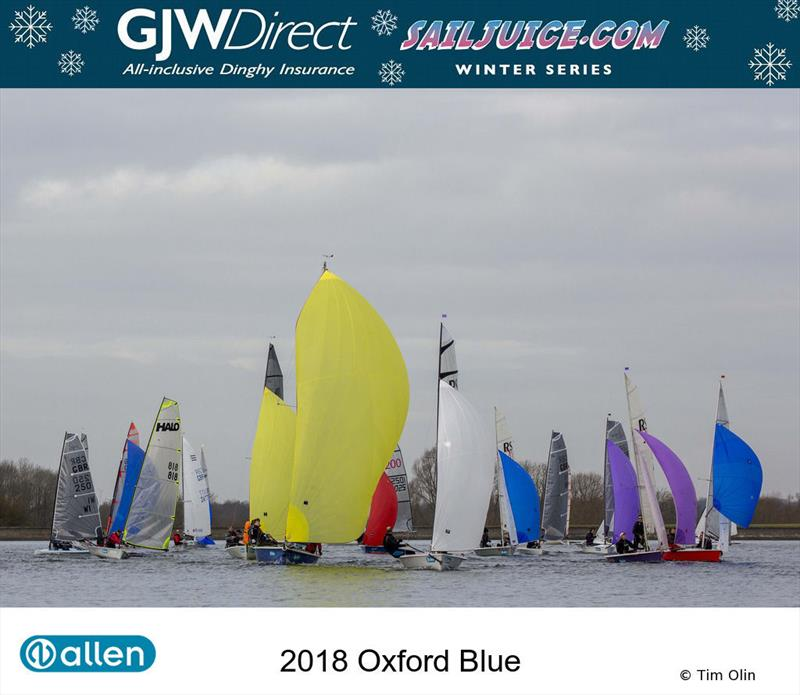 GJW Direct Sailjuice Winter Series Oxford Blue - photo © Tim Olin / www.olinphoto.co.uk