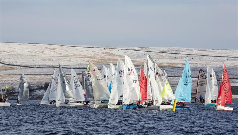 Dinghy racing at Yorkshire Dales SC - photo © Tim Olin / www.olinphoto.co.uk