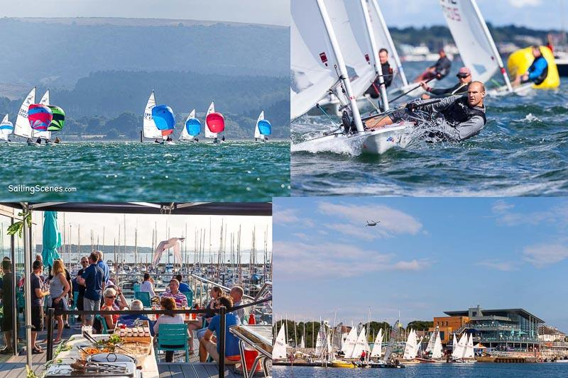 Exciting times for Poole Week in 2019 © David Harding / www.sailingscenes.com