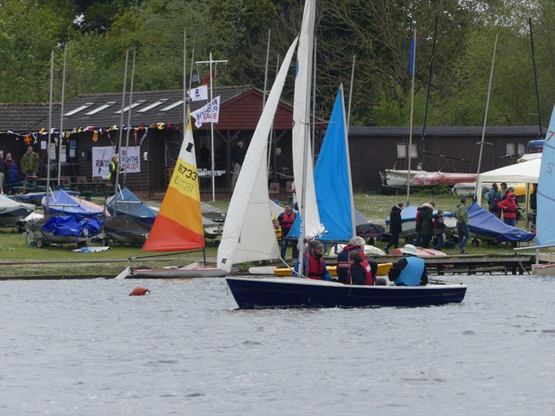 St Edmundsbury Sailing & Canoeing Association's 'Push The Boat Out' Open Day  - photo © Mike Steele