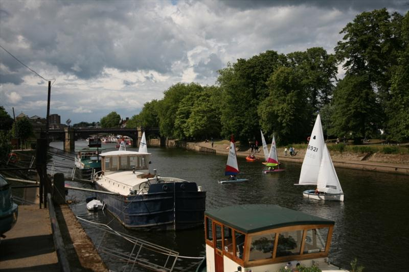 Sailing for Gold in York photo copyright Hugh Brazier taken at  and featuring the Dinghy class