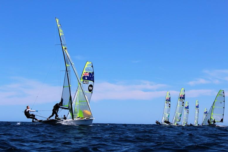49er fleet - photo © Australian Sailing