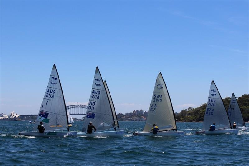 Finns fleet - photo © Australian Sailing