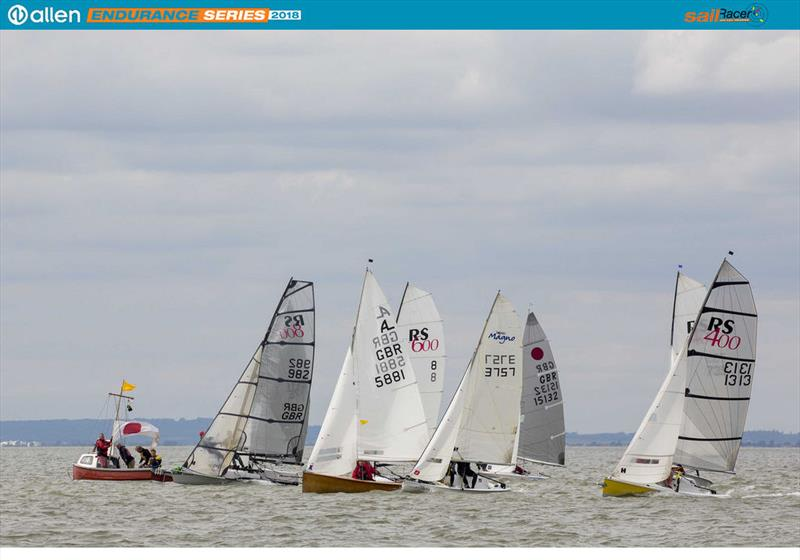 Starting the 60th Round Sheppey Race, part of the Allen Endurance Series - photo © Tim Olin / www.olinphoto.co.uk