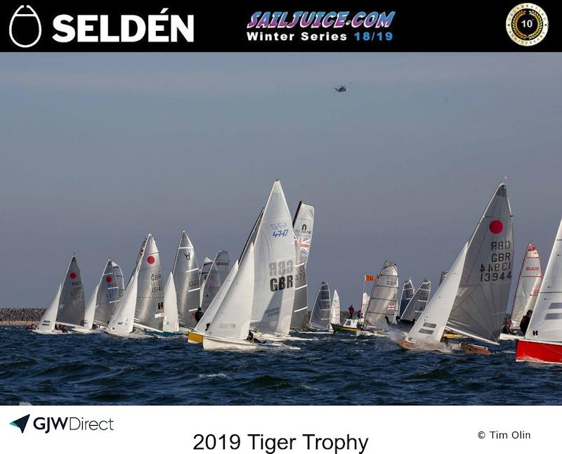 Fast fleet start during John Merricks Tiger Trophy 2019 - photo © Tim Olin / www.olinphoto.co.uk