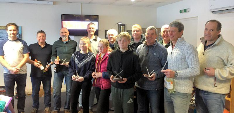 Marlow Ropes Leigh & Lowton Tipsy Icicle prizewinners - photo © Catherine Catchpole