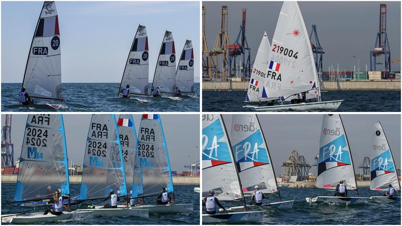 The four boats on trial - photo © World Sailing