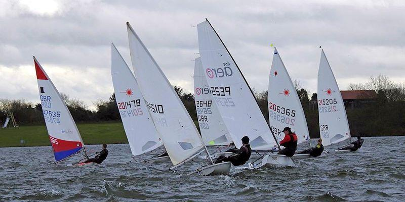 An all-in start for the smaller fleet - week 8 of the Alton Water Fox's Chandlery & Anglian Water Frostbite Series - photo © Emer Berry