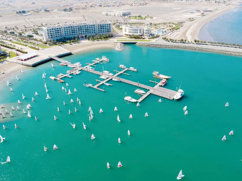49er, 49erFX, and Nacra 17 Worlds, Al Mussanah Sports City, - photo © Oman Sail