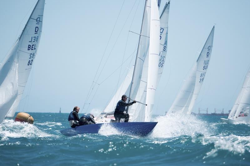 AUS144 Hotspur on day 1 of the Dragon World Championship in Fremantle - photo © Tom Hodge Media