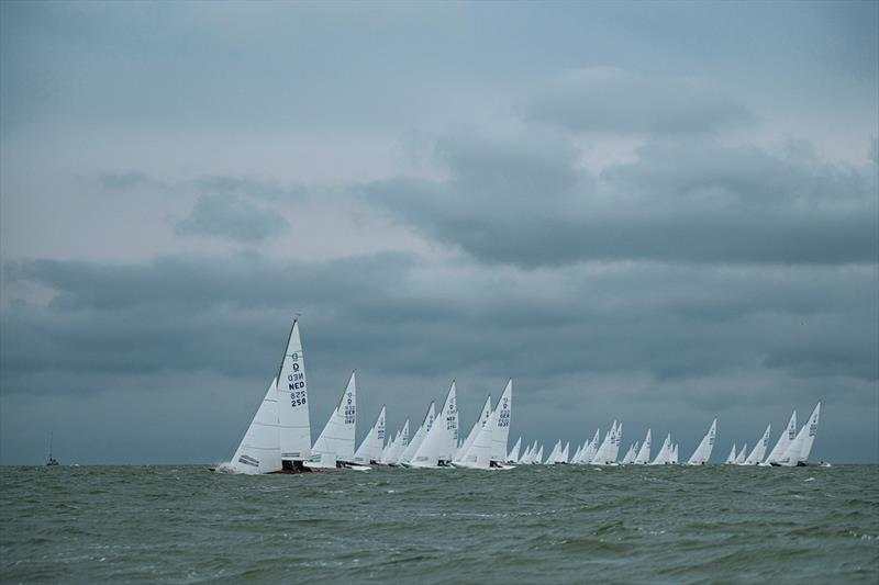 Day 3 - 2019 Yanmar Dragon Gold Cup photo copyright Eric van den Bandt taken at Royal Yacht Club Hollandia and featuring the Dragon class