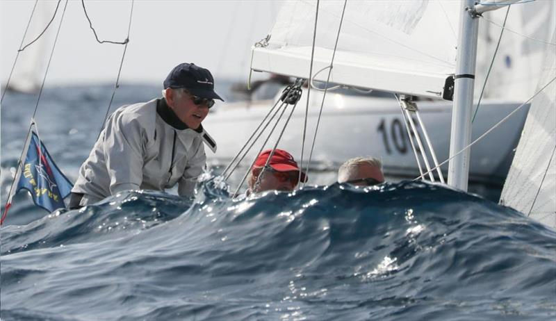 2019 Dragon 90th Anniversary Regatta - Day 4 photo copyright Elena Razina  / YCS taken at Yacht Club Sanremo and featuring the Dragon class