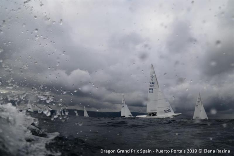 2019 Dragon Grand Prix Spain - Day 3 photo copyright Elena Razina taken at  and featuring the Dragon class
