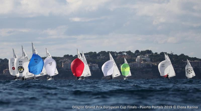 Dragon Grand Prix European Cup Finals - Day 1 photo copyright Elena Razina taken at  and featuring the Dragon class
