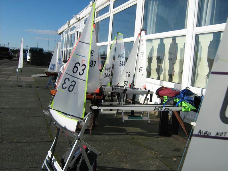 West Lancs RC Laser and DF65 Winter Series Round 3 - photo © Tony Wilson