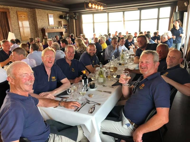 Dinner during the EAORA Offshore Regatta photo copyright Laura Ivermee taken at  and featuring the EAORA class