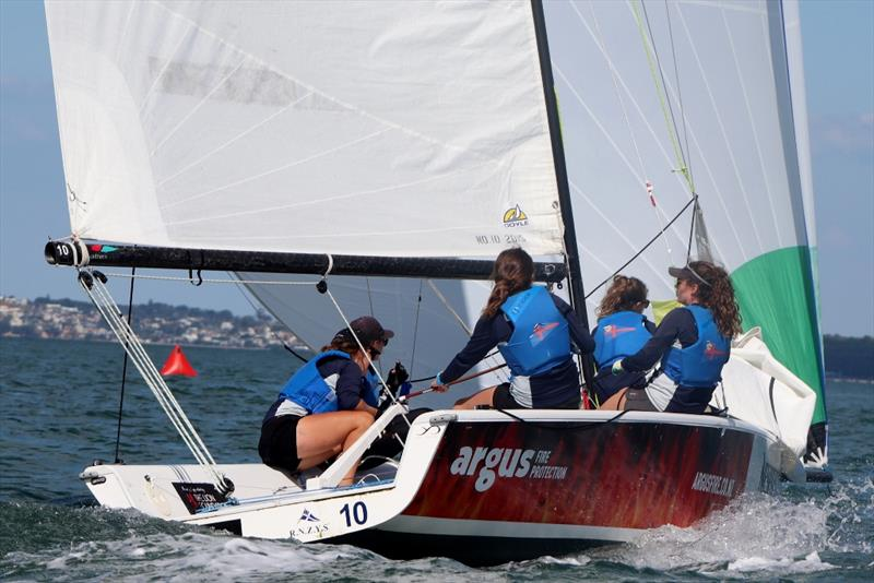 Juliet Costanzo (RPAYC - AUS) - NZ Womens Match Racing Championship - Day 3 - February 11, 2019 - photo © Andrew Delves