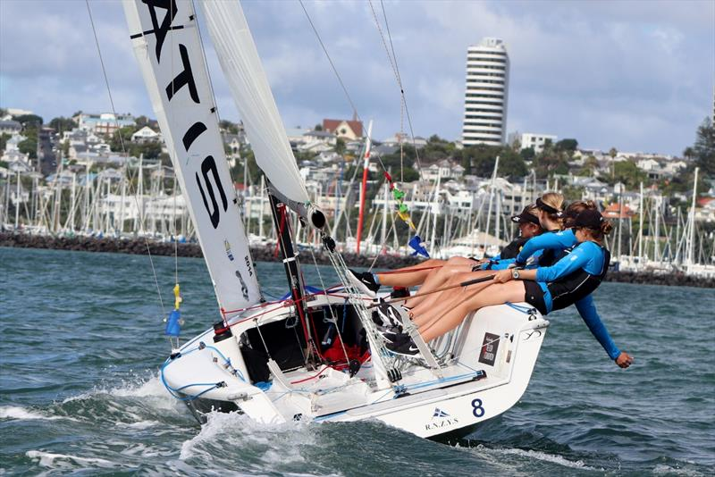Celia Willison Edge Womens Match - will be competing in the YDL NZ Match Racing Qualifiers - photo © Andrew Delves