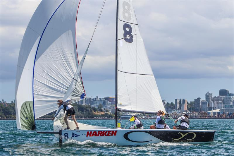 Harken Youth Match Racing World Championship - Day 2 - February 28, 2020 - Waitemata Harbour - photo © Andrew Delves