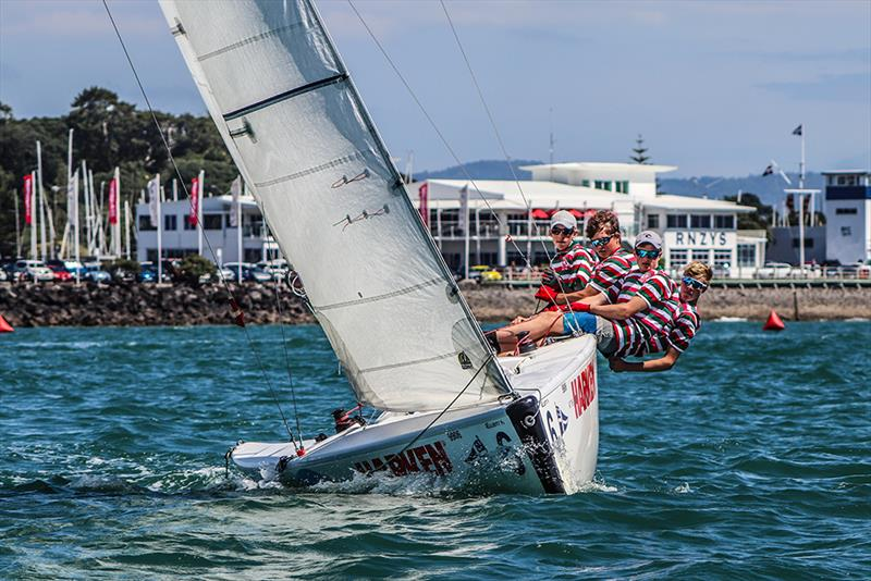 Westlake Boys High School - Harken National Secondary Schools Keelboat Championships - Waitemata Harbour - 2020 - photo © Andrew Delves