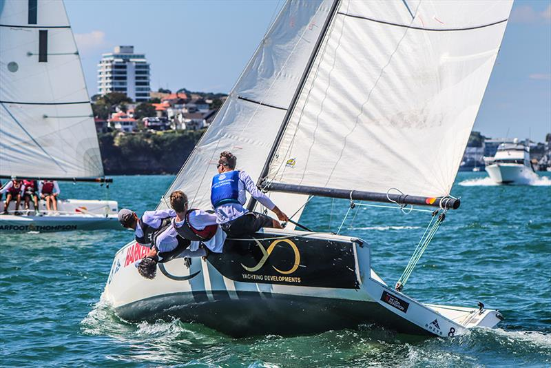St Kentigern College - Harken National Secondary Schools Keelboat Championships - Waitemata Harbour - 2020 - photo © Andrew Delves