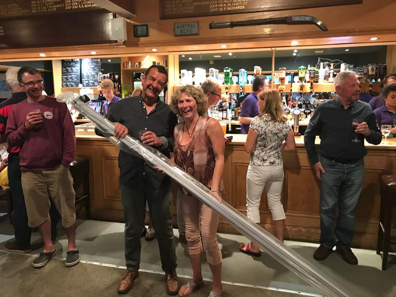 Selden boom auction winner Alice in the Allen 2017 Enterprise Nationals at Abersoch - photo © Enterprise Association