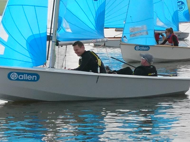 2018 Allen Enterprise Inlands at Blithfield photo copyright Tracy Smith taken at Blithfield Sailing Club and featuring the Enterprise class