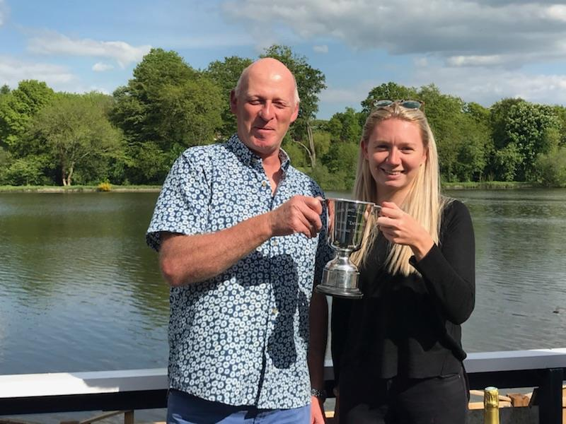 Richard and Amelia Pryke win the Earlswood Lakes Enterprise Open - photo © Jennifer Foort