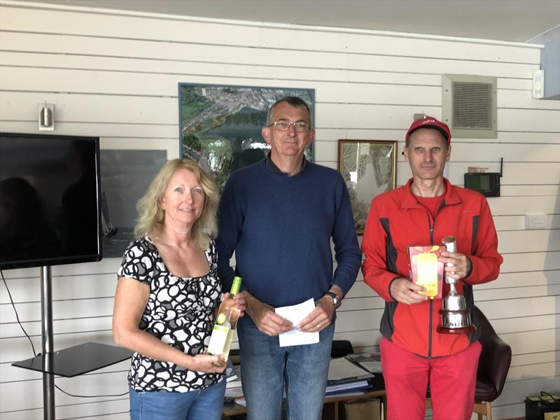 Jonathan Woodward and Jan Kimber win the Midland SC Enterprise Open - photo © Claire Taylor