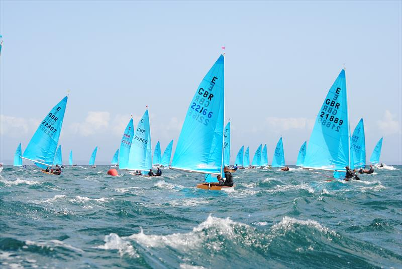 Sailing in white horses on day 3 of the Allen, North Sails & Selden Enterprise Nationals at Mount's Bay - photo © Martyn Curnow