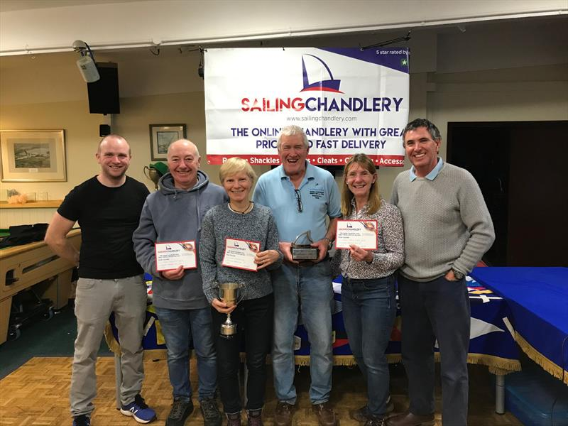 Sailing Chandlery Enterprise National Circuit prize winners photo copyright Martin Honnor taken at Northampton Sailing Club and featuring the Enterprise class
