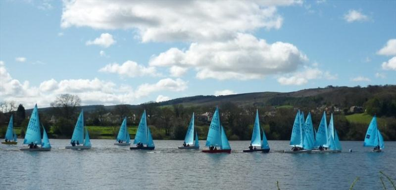 Enterprise Open Meeting At Toddbrook Sailing Club