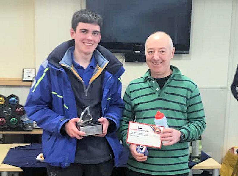 Tim Sadler wins the Sailing Chandlery Enterprise National Circuit - photo © Callum Dingle